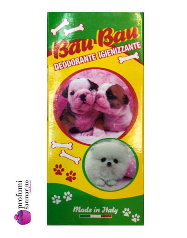Deodoranti profumati per cani
