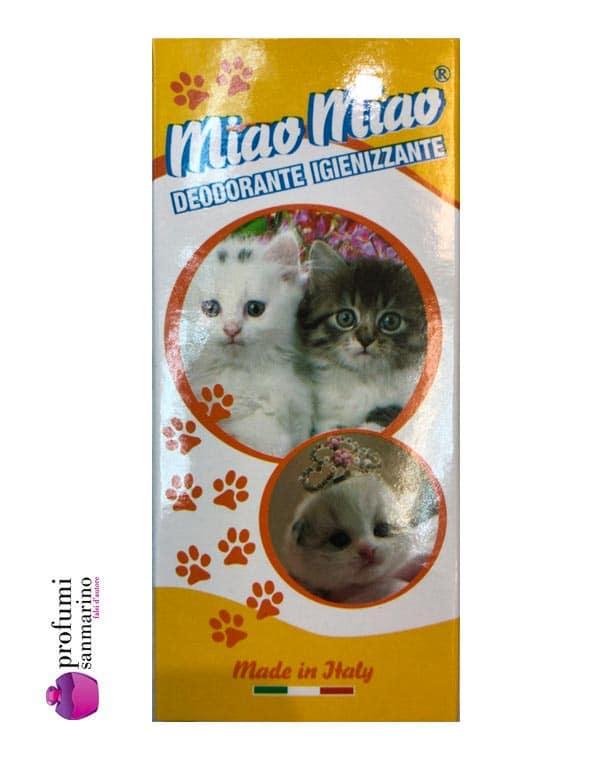 Deodoranti profumati per gatti