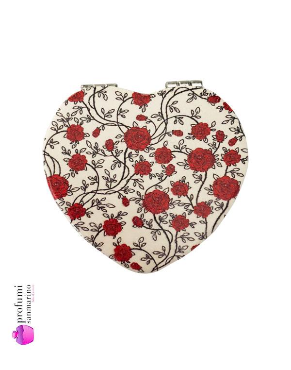 Specchio cuore red rose profumi san mairino - Specchio a cuore ...